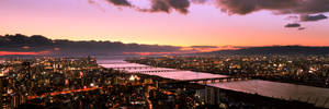 Another view from Umeda Sky Building during Sunset
