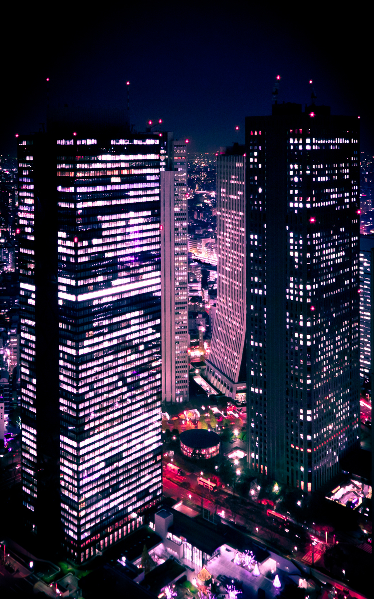 Shinjuku at Night by imladris517