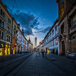 Evening Stroll in Graz