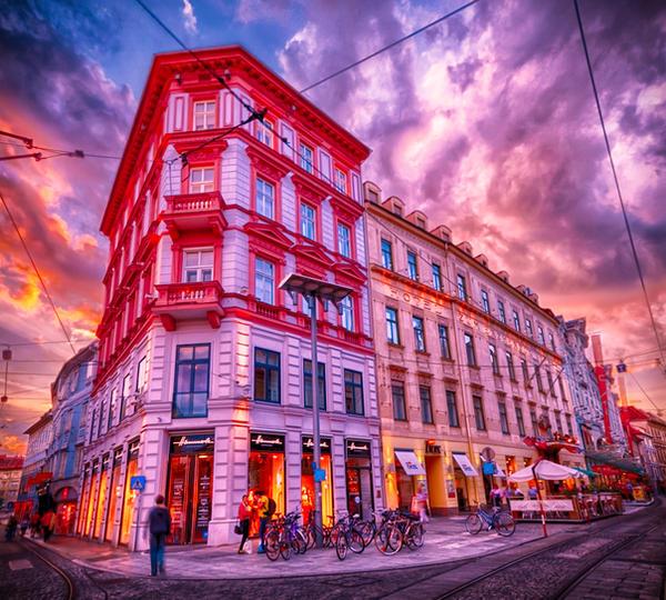 Streets of Graz by imladris517