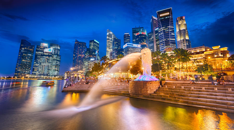 Merlion Park - Singapore by imladris517