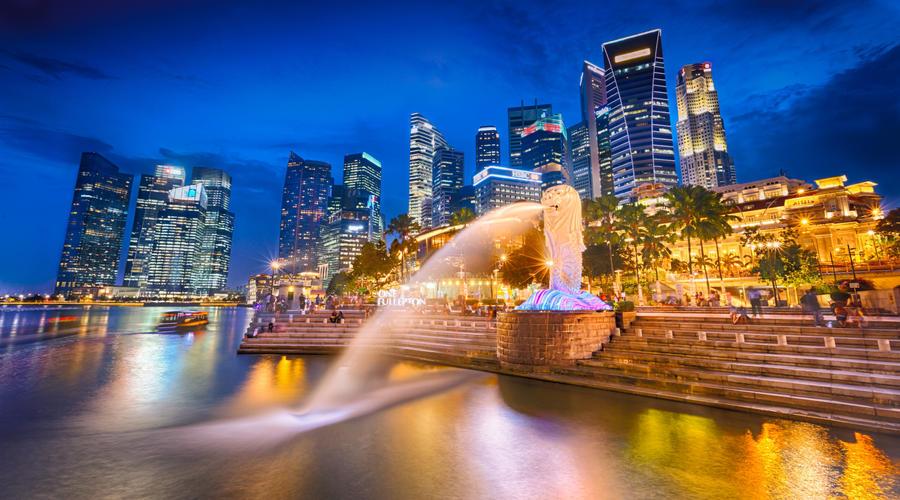 Merlion Park - Singapore by imladris517