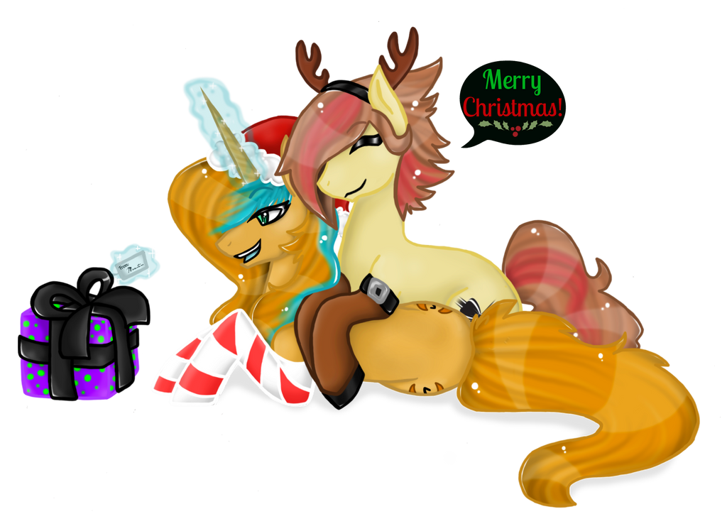 Christmas Commish - Secret Santa by NekoMellow