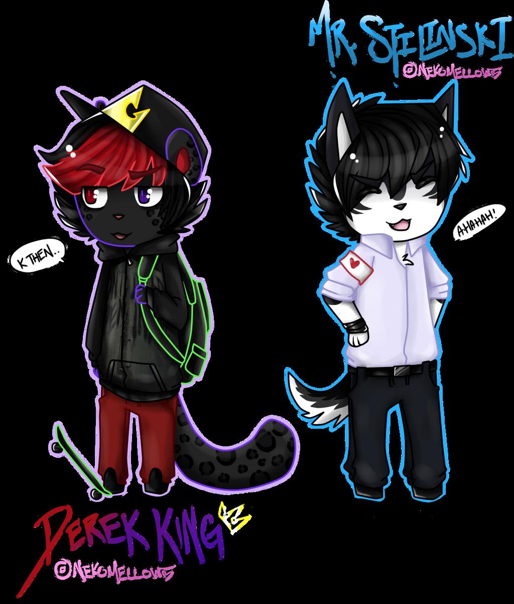 Derek and Stilinski - Animal Crossing Style by NekoMellow