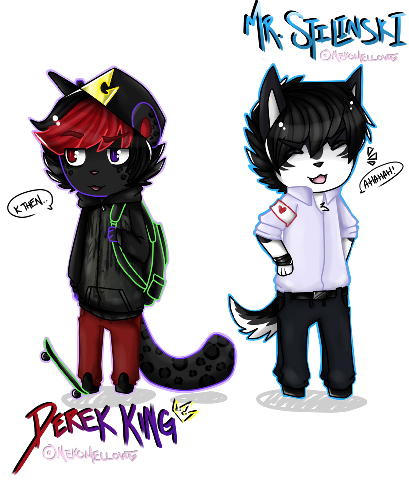 Derek and Stilinski - Animal Crossing Style by NekoMellow