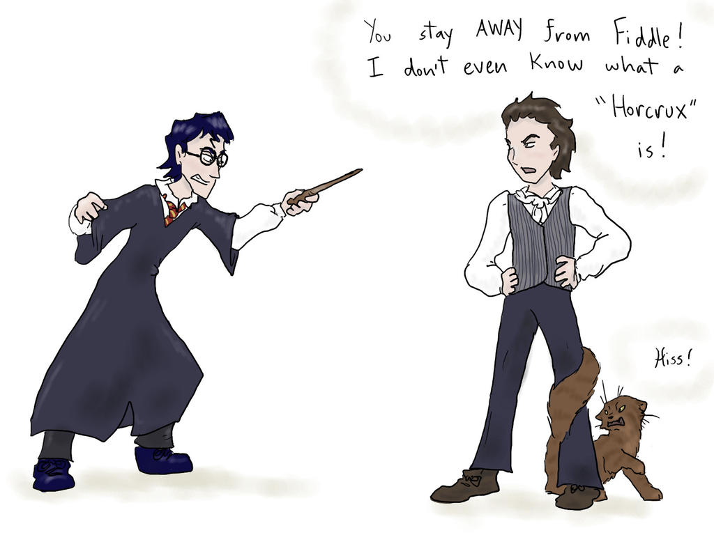 Harry vs. Cat Remake by Treacle-Miner