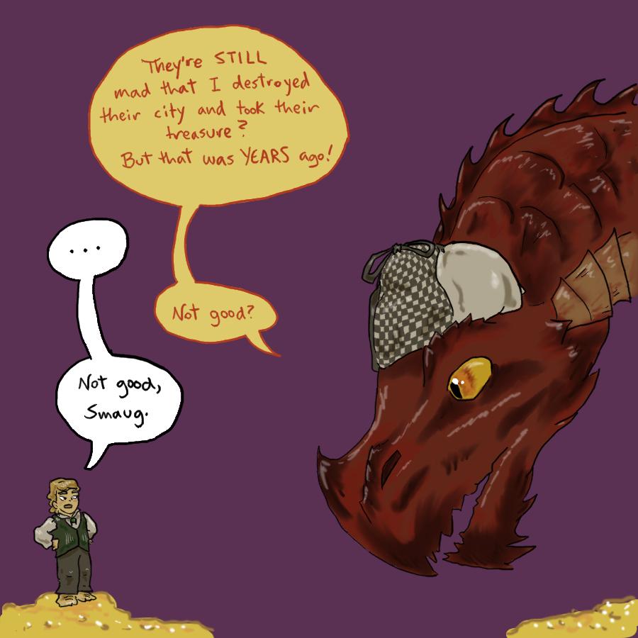 The Hobbit, Part Two:  Shirelock