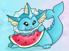 Vaporeon Watermelon