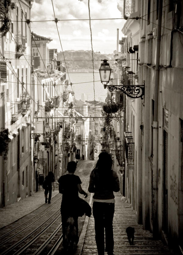 Lisbon Afternoon by Feanar