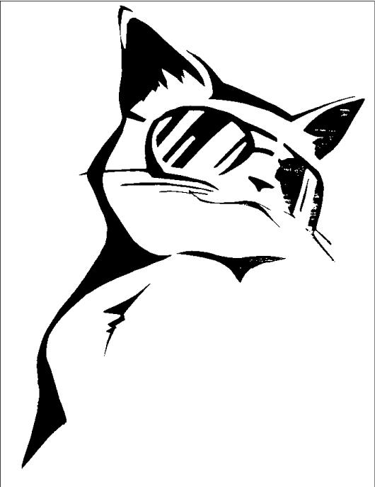 Cool-cat-stencil by highsuperior on DeviantArt