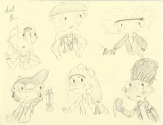 Hey Arnold Goonies by Sunny-Scribble