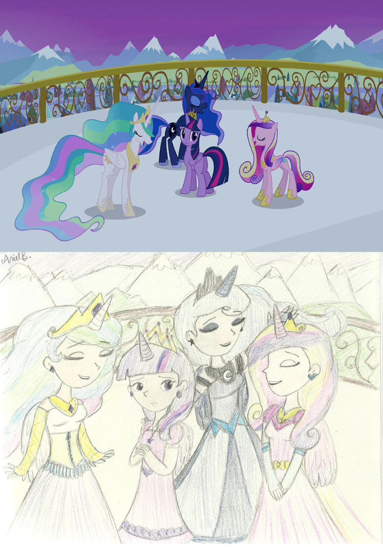 You'll Play Your Part REDRAW by Sunny-Scribble