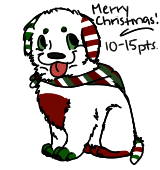 Christmas Pup Adopt CLOSED by TheAdoptShop