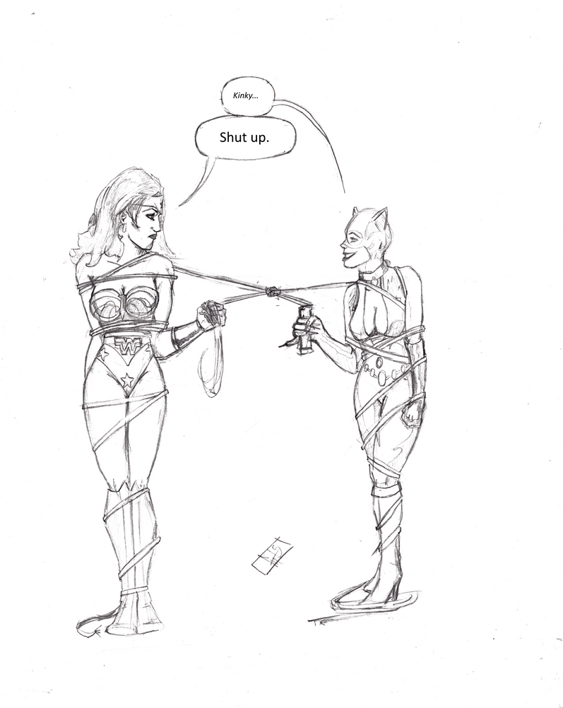 The Stalemate (Pencils) by YourHumbleDM