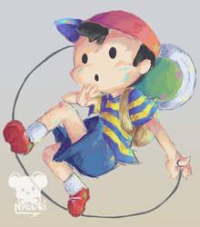 Ness by Naokarii