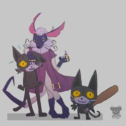 Nyakuza Team by Naokarii
