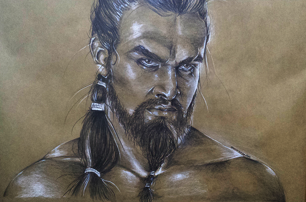 Khal Drogo / Game of Thrones by IntoxicatedBlack