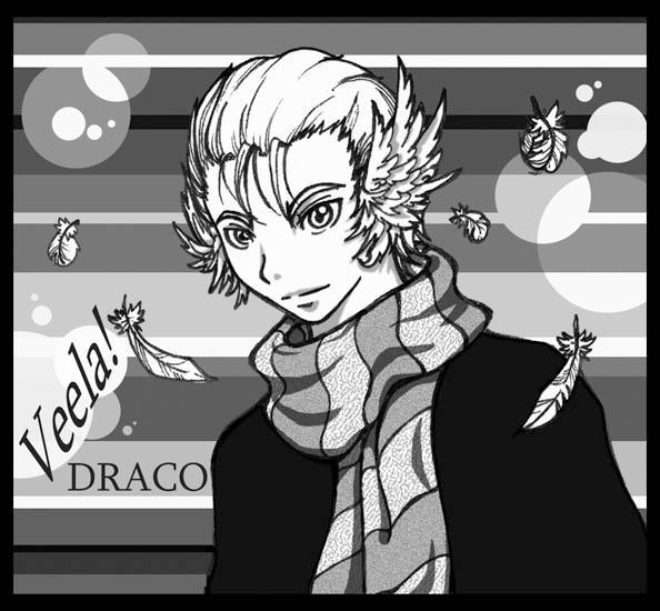 Manga Veela.Draco by ahou on DeviantArt