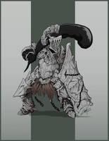 Dark Souls- Havel the Rock by KrumpZero
