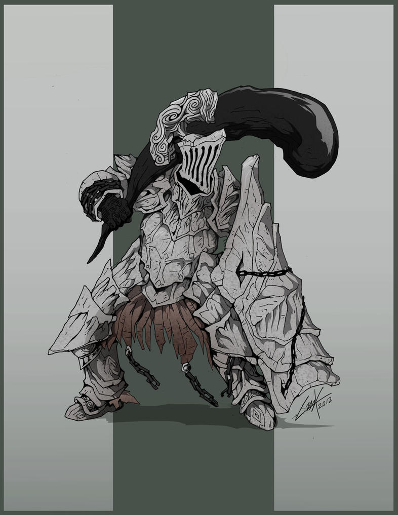 Dark Souls- Havel the Rock by KrumpZero