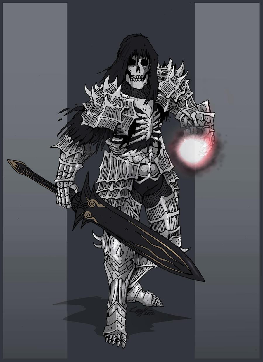 Dark Souls- Dark Wraith by KrumpZero