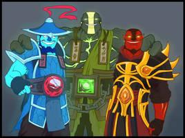 DotA 2 - Spirit Brothers by KrumpZero