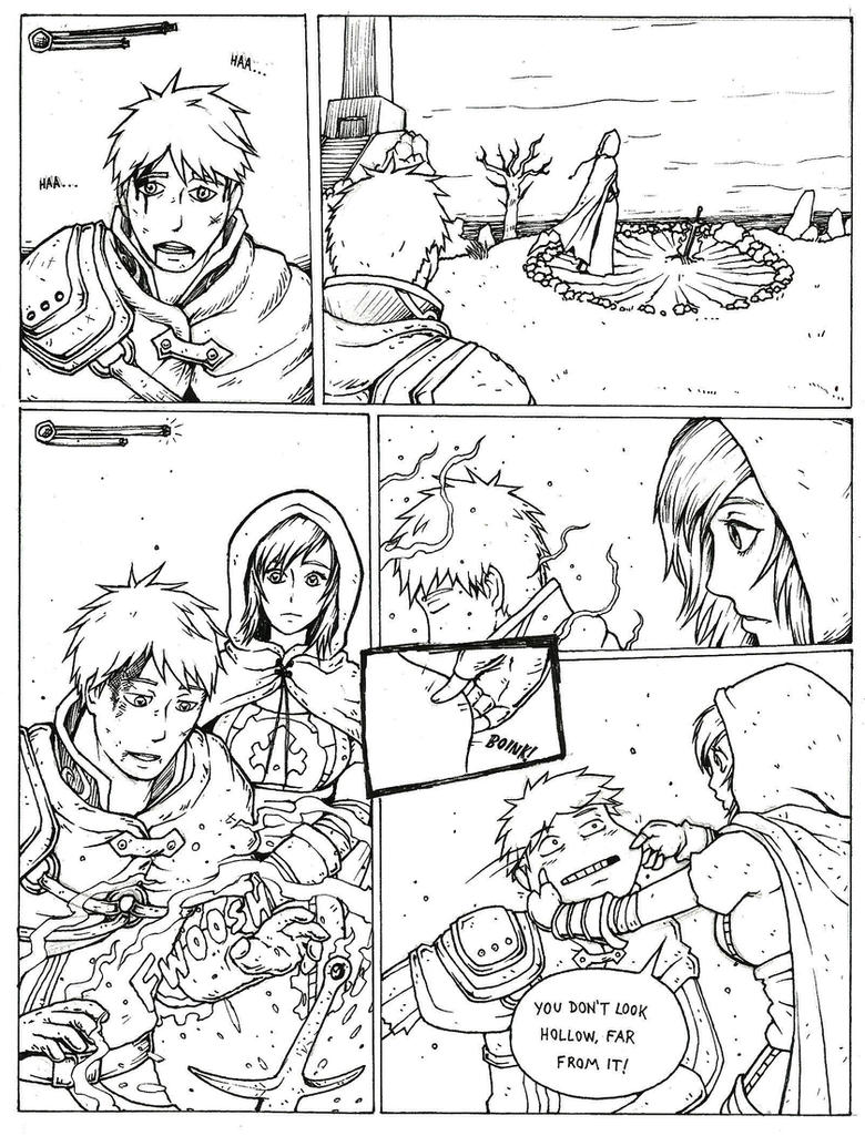 Comic strips about artwork