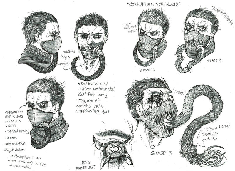 Character Design Appearance : Character concept faces and features by krumpzero on