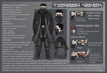 OC - Tiergan - Reference Sheet by KrumpZero