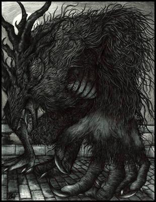 Cleric Beast by KrumpZero