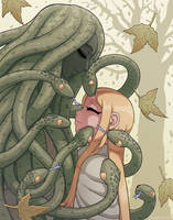Snake Kisses by KrumpZero