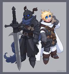 Tierdred and Jesabell by KrumpZero