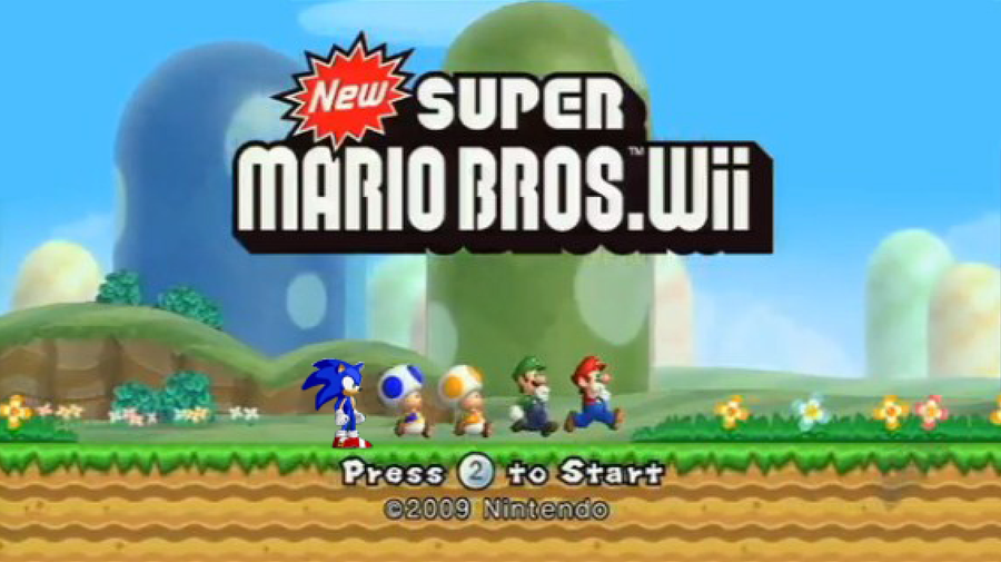 Sonic In New Super Mario Bros Wii Download Fodashelper S Blog
