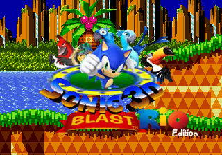 Sonic 3D blast: Rio Edition by AtomicPhoton