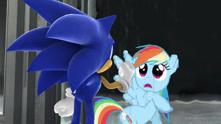 Sonic and Rainbow mirrors by AtomicPhoton