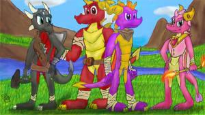 Spyro the Dragon Boom