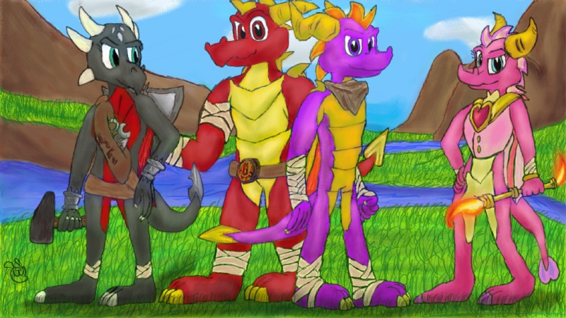Spyro The Dragon Boom By AtomicPhoton On DeviantArt