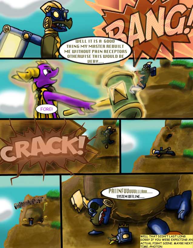 The Adventures of Spyro and Company 1-9 by AtomicPhoton
