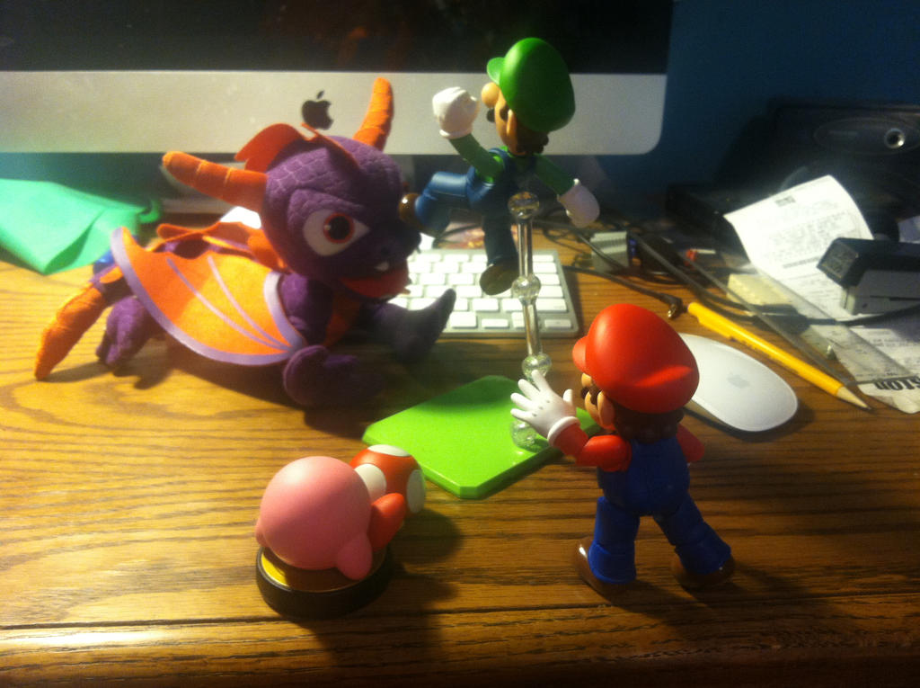 THIS IS AMIIBOS!! by AtomicPhoton