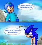 Mega Man Dirty Dan and Sonic the Pinhead