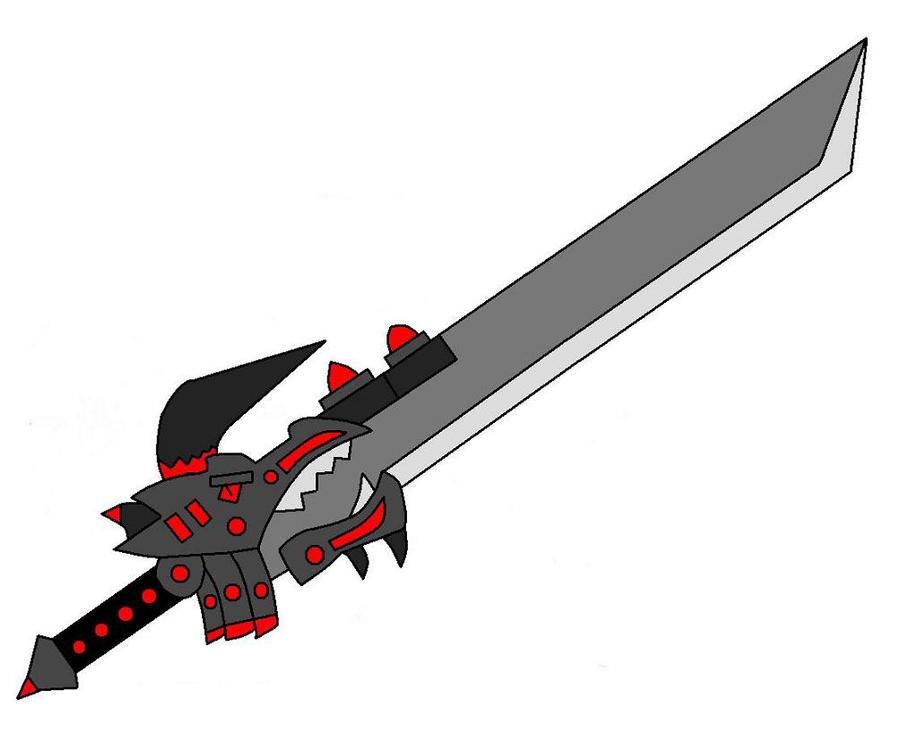 Devil Dragon Sword By Kongo217 On DeviantArt