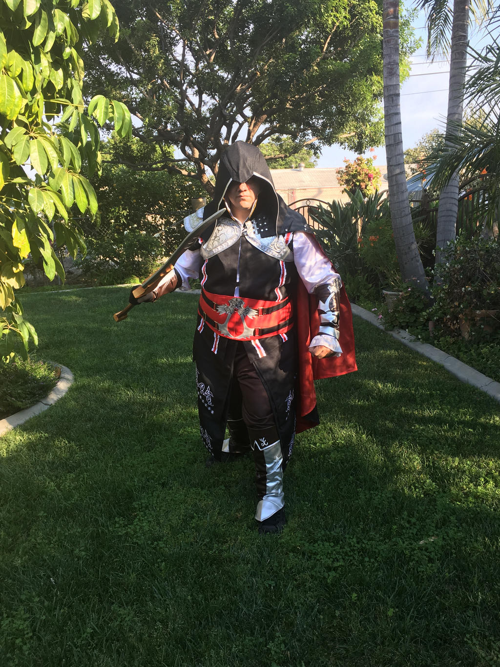 assassin's creed 2 ezio cosplay fight pose by kongo217 on ...