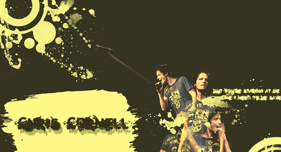 Chris Cornell Wallpaper by JJaded on DeviantArt