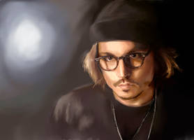 Johnny Depp by Alex-Mars
