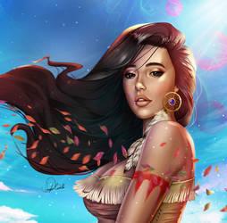 Pocahontas by Douglas-Bicalho