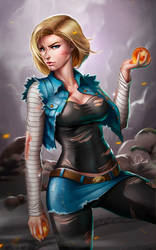 Android18 by Douglas-Bicalho
