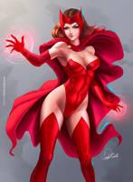 Scarlet Witch by Douglas-Bicalho