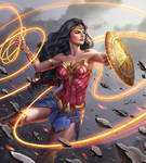 Wonder Woman by Douglas-Bicalho