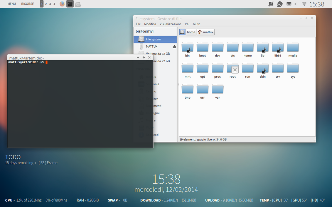 Fedora 19 Xfce 140212 by halfedge