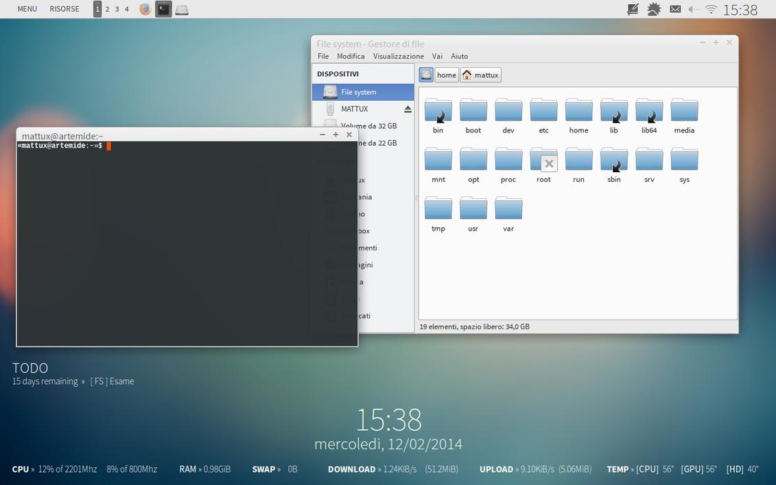 Fedora 19 Xfce 140212 by halfedge